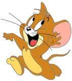 qq情侣卡通头像两张陪我们一齐成长的猫和老鼠;