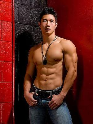 Asia model gay Thai Massage